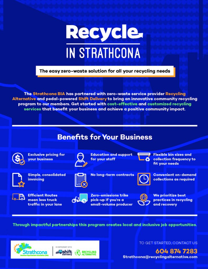 Recycle In Strathcona Benefits for Your Business 2017
