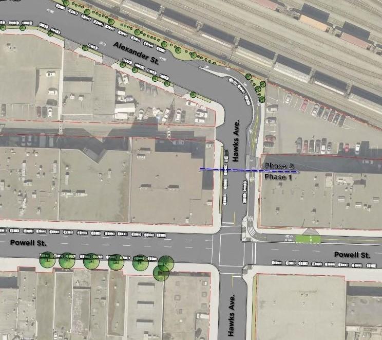 Alexander Street Bikeway Changes